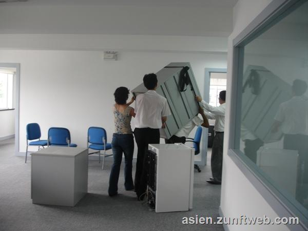 B ro reisen zunftweb for Office einrichtung